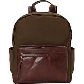 "Mancini Leather Goods Backpack for 15.6"" Laptop"