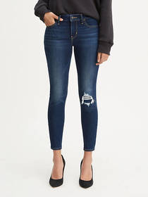 Levi's 710 Super Skinny Cool Cropped Jeans