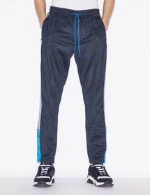 Armani TROUSERS WITH LOGOED STRIP ON THE SIDES
