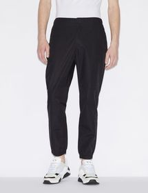 Armani TROUSERS WITH ELASTICATED WAIST AND ANKLE