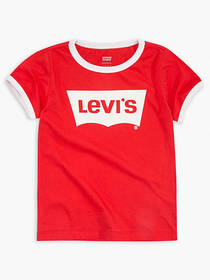 Levi's Toddler Girls 2T-4T Levi's® Retro Ringer Te