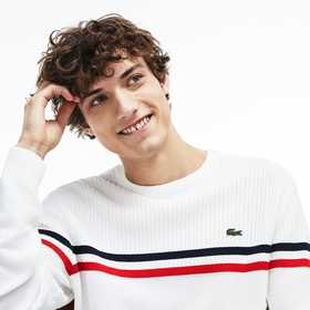 Lacoste Men's Made In France Cotton Sweater