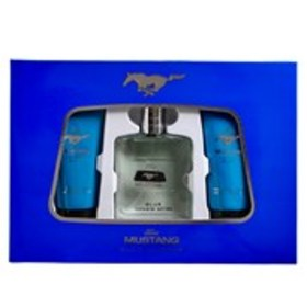 MUSTANG Ford Mustang Blue for Men 3-Piece Gift Set