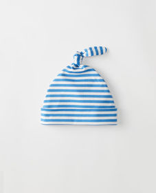 Hanna Andersson Top Knot Beanie In Organic Pima Co