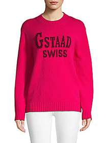 Moncler Gstaad Instarsia Wool & Cashmere Blend Swe