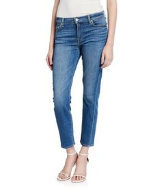 7 For All Mankind Roxanne Ankle Skinny Squiggle Je