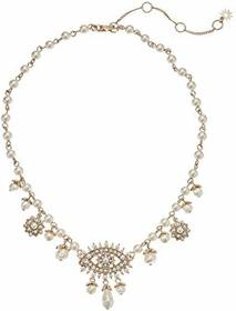 Marchesa 18in Evil Eye Collar Necklace