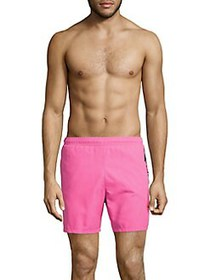 BOSS Logo Swim Shorts THRILL PINK