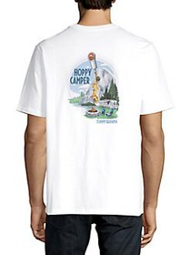 Tommy Bahama Cotton Printed T-Shirt WHITE