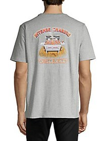 Tommy Bahama Cotton Printed T-Shirt GREY HEATHER
