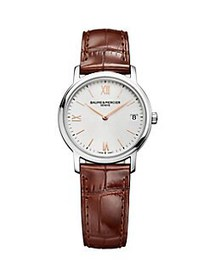 Baume & Mercier Classima Stainless Steel & Leather