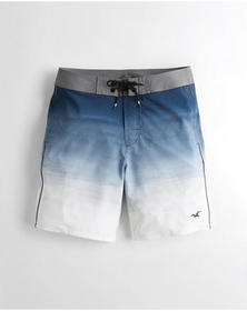 Hollister Classic Fit Boardshort 9 in., NAVY OMBRE