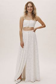 Anthropologie Serena Lace Two-Piece Set