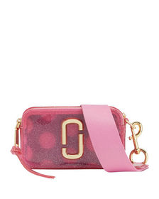 Marc Jacobs The Jelly Glitter Snapshot Crossbody B