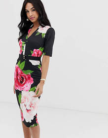 Ted Baker Gilanno magnificant floral bodycon dress