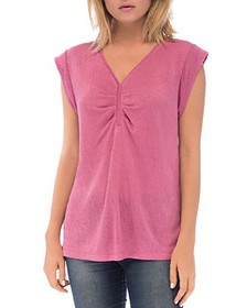 B Collection by Bobeau - Eloise Cap-Sleeve Top