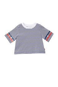 Levi's Short Sleeve Cropped Knit T-Shirt (Little G