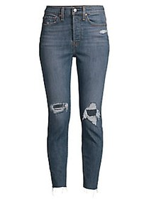 Levi's Wedgie Fit High-Rise Skinny Jeans TOUGH LOV