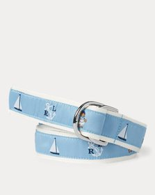 Ralph Lauren Nautical Polo Bear Belt