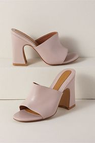 Anthropologie Jaggar Crescent Leather Heels