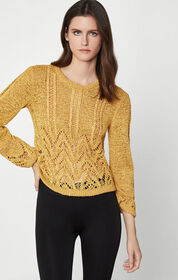 BCBG Mixed Stitch Sweater