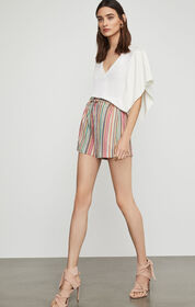 BCBG Drape Sleeve Top