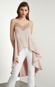 BCBG High-Low Cami Top