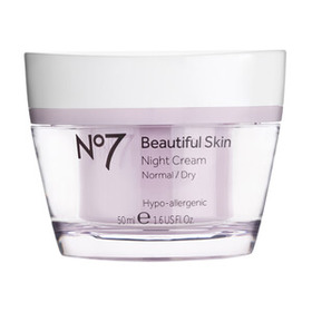 Boots No.7 Beautiful Skin Night Cream - Normal to