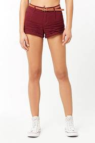 Forever21 Cuffed Mid-Rise Shorts