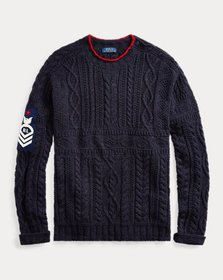 Ralph Lauren Knit Cotton-Blend Sweater