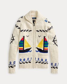 Ralph Lauren Cotton Full-Zip Sweater