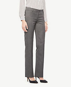 The Straight Pant In Sharkskin - Curvy Fit