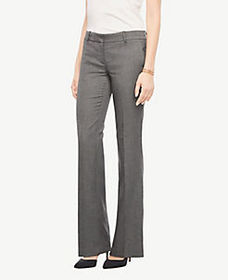 The Trouser Pant In Sharkskin - Curvy Fit