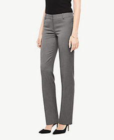 The Straight Pant In Sharkskin