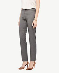 The Ankle Pant in Sharkskin - Curvy Fit