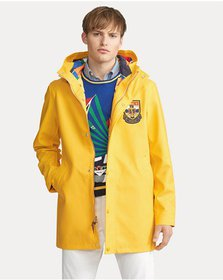 Ralph Lauren Rubberized Cotton Raincoat