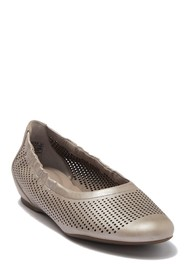 Rockport Total Motion Perforated Luxe Slip-On Flat