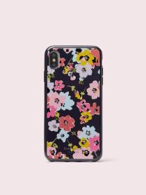 jeweled wildflower bouquet iphone xs max case