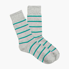 J. Crew Factory factory mens Two-tone striped sock