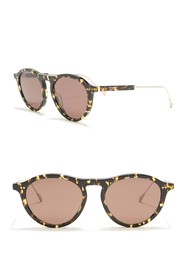 Tod's Modified Round 51mm Sunglasses