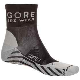 Gore Bike Wear Contest Cycling Socks - Quarter Cre