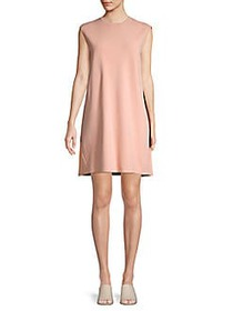 Valentino Sleeveless Shift Dress POUDRY ROSE