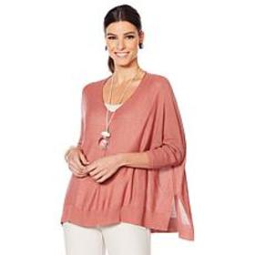 WynneLayers Boucle V-Neck Pullover