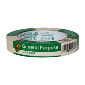 Duck Brand General Purpose Masking Tape - Beige, .