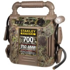 Stanley 700 Amp Camo Jump Starter with Air Compres