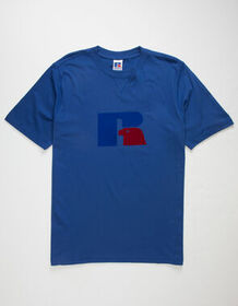 RUSSELL ATHLETIC Jerry Flock Royal Mens T-Shirt_