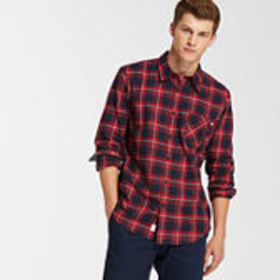 Timberland Men's Back River Lightweight Flannel Sh