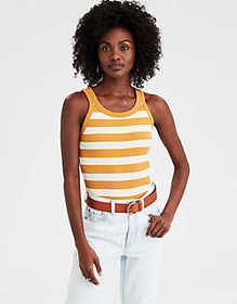American Eagle AE High Neck Tank Top