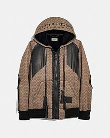"Coach signature western ""couch"" hoodie"