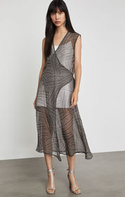 BCBG Draped Front Cover-Up